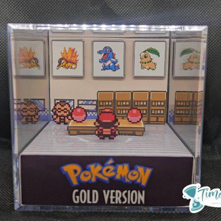 principal pokemon gold cube diorama